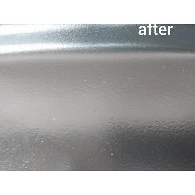 正面after ダッシュボード穴とひび割れの補修