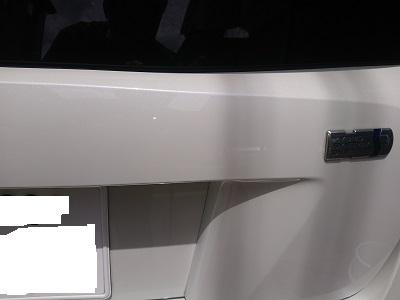 DSC 3705 鉄粉 水垢すっきり除去 ポリッシング+ボディーコーティング