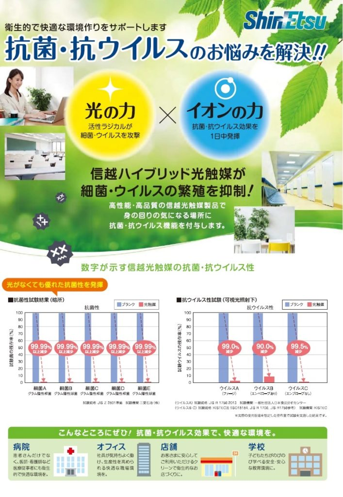 ShinEtsu Photocatalyst 707x1024 光触媒コーティング 抗菌・抗ウイルス